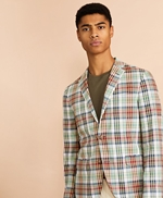 Madras Cotton Sport Coat 썸네일 이미지 1