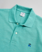 Slim Fit Supima® Cotton Performance Polo Shirt 썸네일 이미지 2