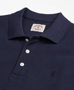 Garment-Dyed Cotton Pique Polo Shirt 썸네일 이미지 2