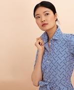 Logo-Print Striped Cotton Poplin Shirt Dress 썸네일 이미지 2