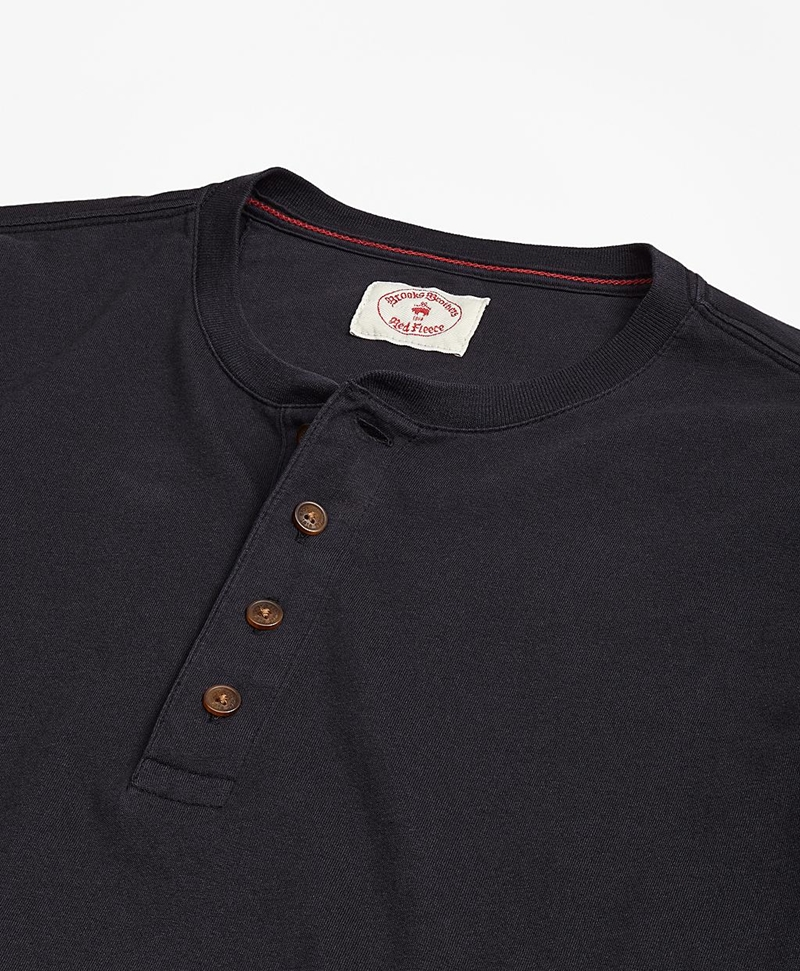 Garment-Dyed Henley 썸네일 이미지 2