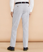 Striped Cotton Stretch Trousers 썸네일 이미지 3