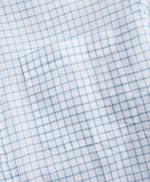 Regent Fitted Sport Shirt, Irish Linen Mini-Check 썸네일 이미지 3
