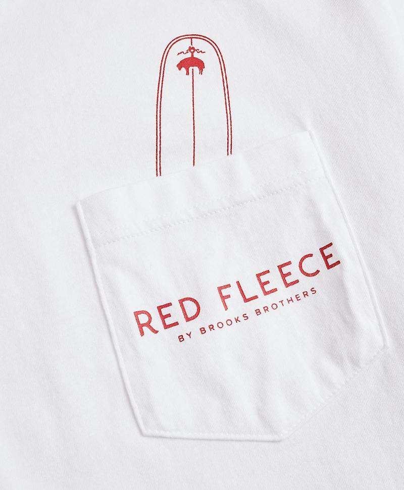 Cotton Surfboard Pocket T-Shirt 썸네일 이미지 3