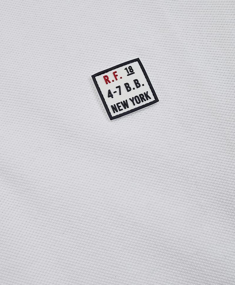 Garment-Dyed Cotton Pique Polo Shirt 썸네일 이미지 3