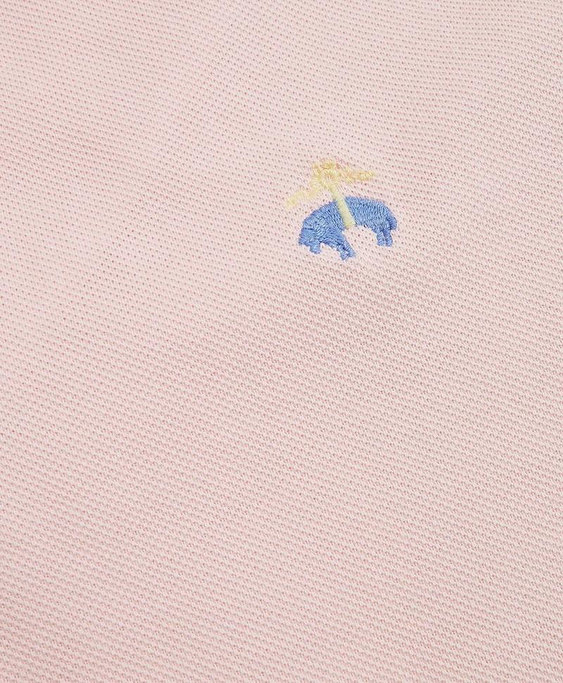 Slim Fit Supima® Cotton Performance Polo Shirt 썸네일 이미지 3