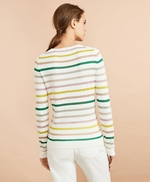 Shimmer Stripe Sweater 썸네일 이미지 4