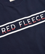Jersey Cotton Red Fleece Graphic T-Shirt 썸네일 이미지 5