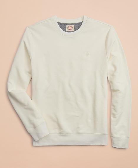 레드플리스 프렌치 테리 라이트웨이트 크루넥 스웨트 셔츠 (화이트)