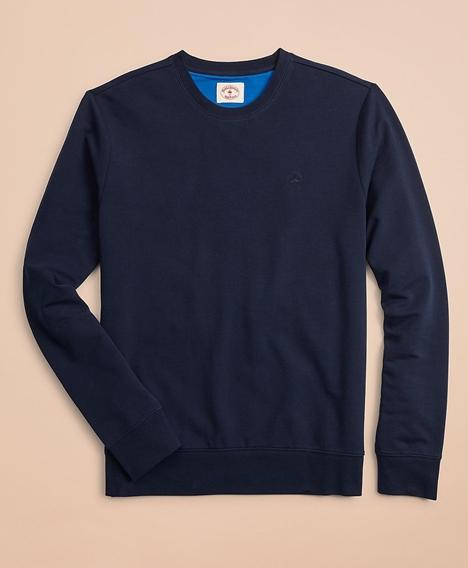 레드플리스 프렌치 테리 라이트웨이트 크루넥 스웨트 셔츠 (네이비)