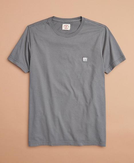 레드플리스 가먼트 다잉 티셔츠 (그레이)