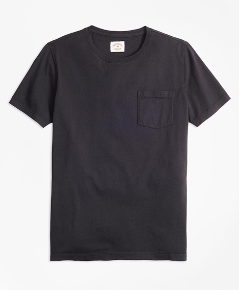 레드플리스 가먼트 다이드 티셔츠 (블랙)