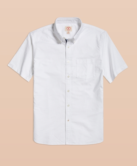 레드플리스 1818 옥스포드 스포츠셔츠 (화이트)