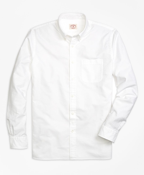 레드플리스 솔리드 옥스포드 스포츠 셔츠(화이트)
