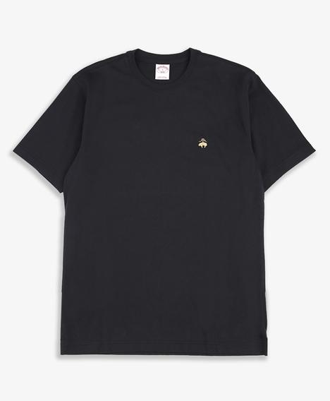 코튼 로고 크루넥 티셔츠