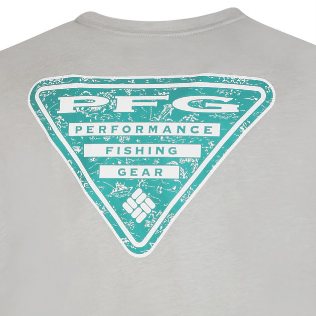 PFG™ Triangle Print Pocket Tee