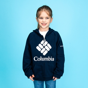 Columbia™ BrandedFrench Terry Full Zip