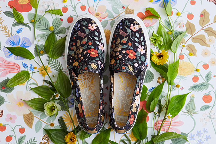 KEDS X RIFLE PAPER CO.<br>FLOWER DELIVERY